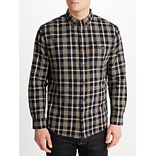 Buy JOHN LEWIS & Co. Virginia Check Shirt, Navy Online at johnlewis.com