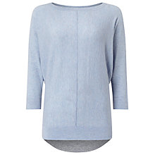 Buy Phase Eight Claudina Colour Block Jumper, Soft Blue Online at johnlewis.com