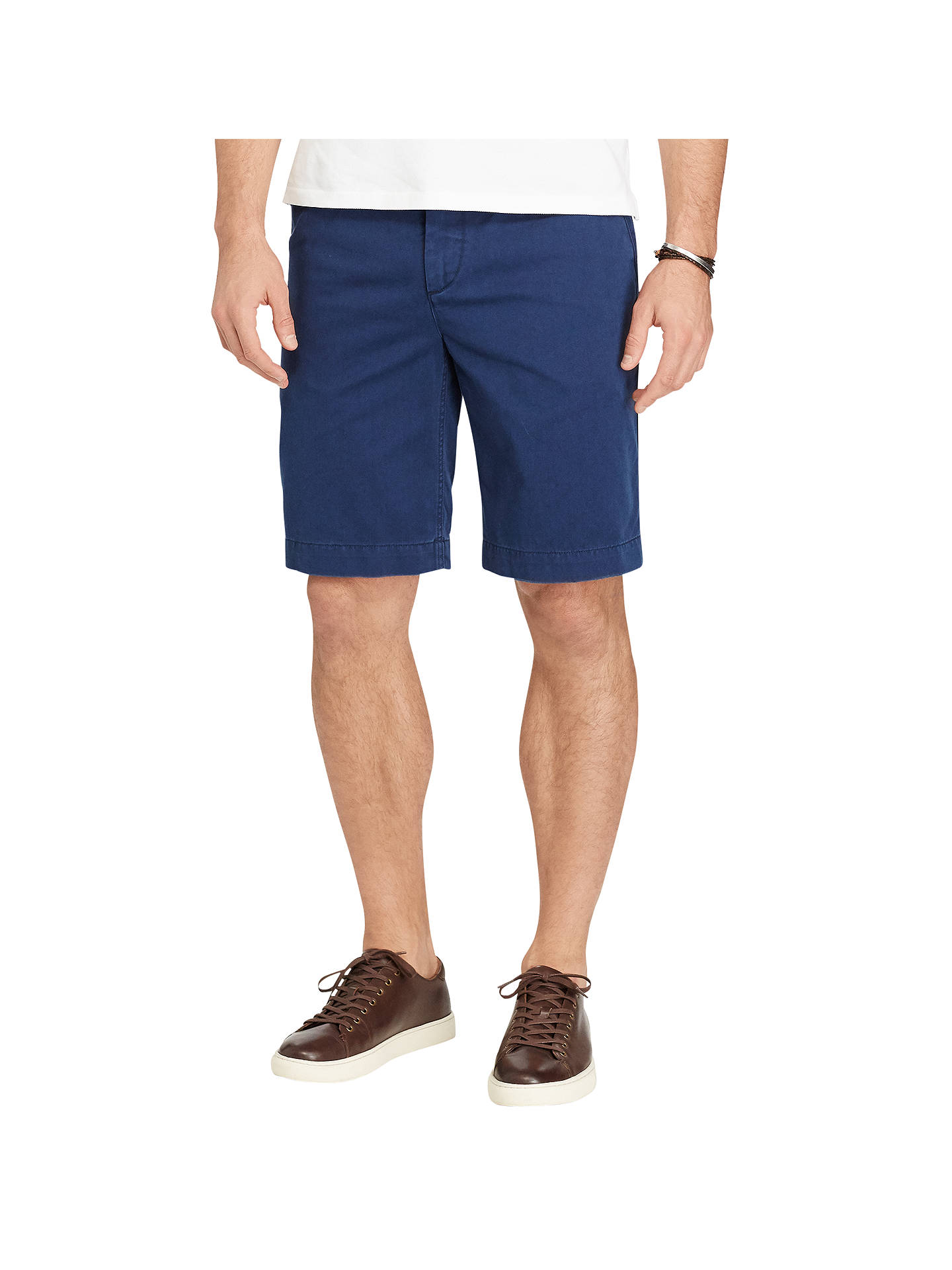 c30762349 Polo Ralph Lauren Relaxed Fit Cotton Chino Shorts at John Lewis ...