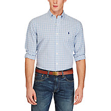 Buy Polo Ralph Lauren Poplin Button Down Sports Fit Shirt Online at johnlewis.com