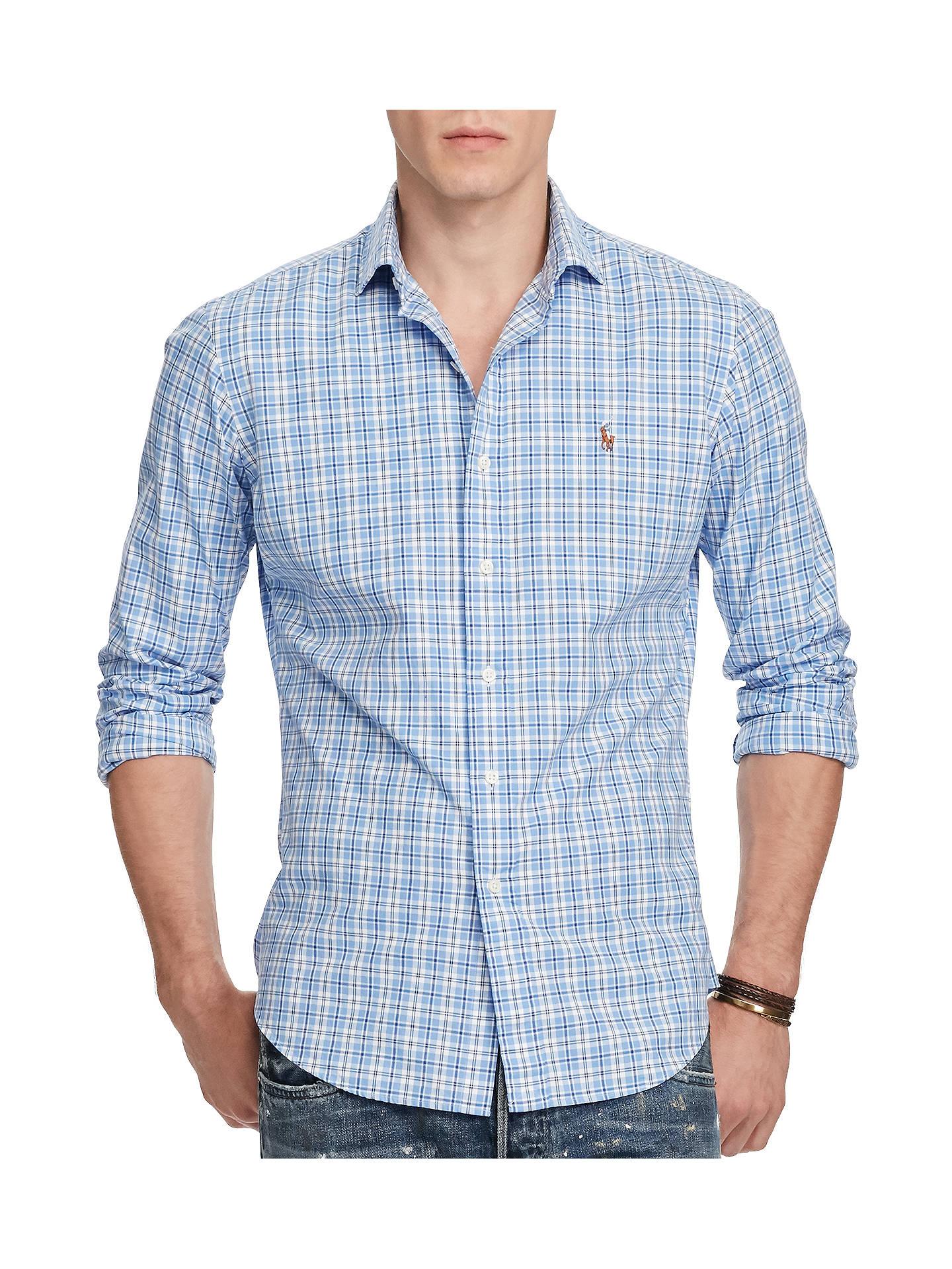BuyPolo Ralph Lauren Standard Fit Plaid Cotton Oxford Shirt bf7e8a93d72f