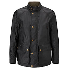 Buy Belstaff Tourmaster Water Resistant Biker Waxed Cotton Jacket Online at johnlewis.com