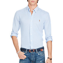 Buy Polo Ralph Lauren Knit Oxford Shirt Online at johnlewis.com