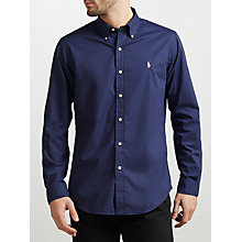 Buy Polo Ralph Lauren Poplin Button-Down Sports Fit Shirt Online at johnlewis.com