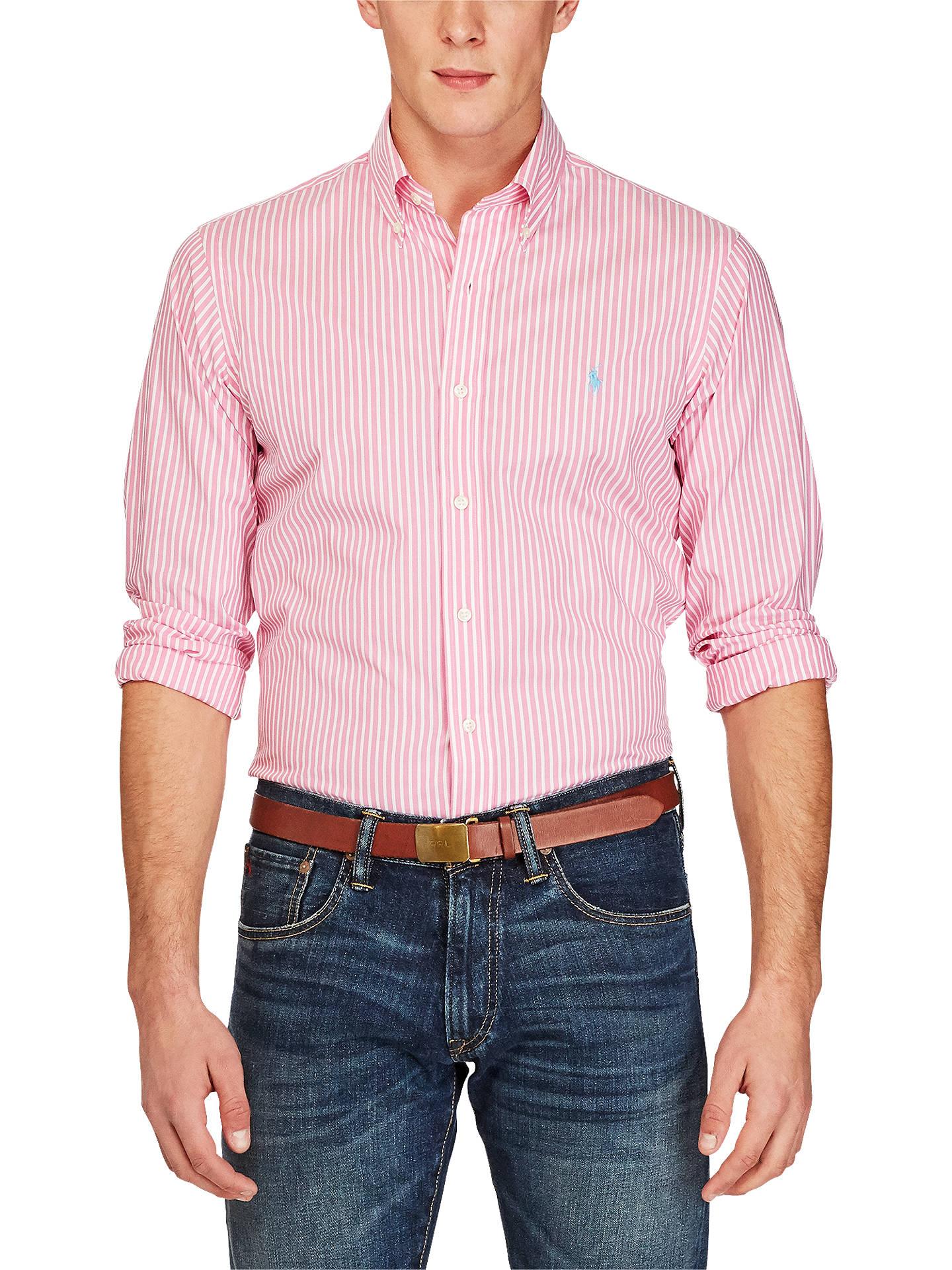 fc2ea968e0b5 Buy Polo Ralph Lauren Slim Fit Striped Cotton Poplin Shirt
