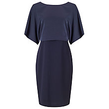 Buy Jacques Vert Kimono Sleeve Dress, Navy Online at johnlewis.com