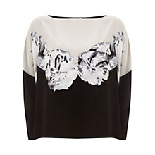 Buy Mint Velvet Petra Print Oversize T-Shirt, Multi Online at johnlewis.com