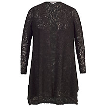 Buy Chesca Scallop Lace Shrug, Black Online at johnlewis.com