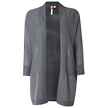 Buy White Stuff Glimmer Cardigan, Charcoal Online at johnlewis.com