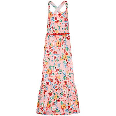 Yumi Girl Tropical Maxi Dress, Pink