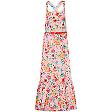 Buy Yumi Girl Tropical Maxi Dress, Pink Online at johnlewis.com