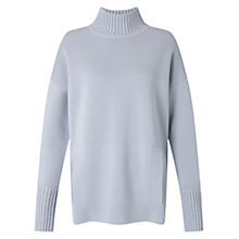 Buy Jigsaw Milano Jumper, Glacier Blue Online at johnlewis.com