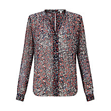Buy Jigsaw Frieda Floral Print Blouse Online at johnlewis.com