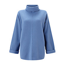 Buy Jigsaw Boiled Wool Zip Jumper Online at johnlewis.com