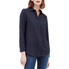 Buy French Connection Polly Plains Pocket Shirt, Nocturnal Online at johnlewis.com