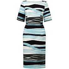 Buy Fenn Wright Manson Petite Madrid Stripe Dress, Blue Online at johnlewis.com