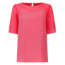 Buy Fenn Wright Manson Petite Berlin Top, Coral Online at johnlewis.com