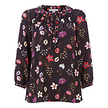 Buy Fenn Wright Manson Petite Botanical Print Antibes Top, Multi Online at johnlewis.com