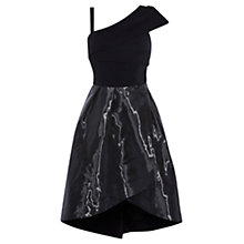 Buy Coast Lileth Glass Fabric Dress, Black Online at johnlewis.com