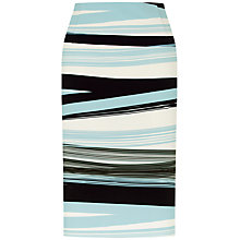 Buy Fenn Wright Manson Petite Madrid Skirt, Blue Stripe Online at johnlewis.com