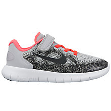 Buy Nike Children's Free Run 2 PS Rip Tape Trainers Online at johnlewis.com