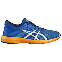 Buy Asics Children's fuzeX Lyte Running Shoes, Blue Online at johnlewis.com