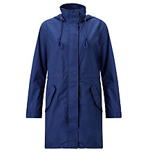 Buy Levi's Fishtail Parka, Medieval Blue Online at johnlewis.com