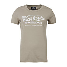Buy Barbour International Accelerate T-Shirt, Khaki Online at johnlewis.com