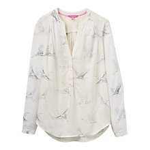 Buy Joules Rosamund Printed Blouse, Cream Online at johnlewis.com
