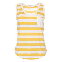 Buy Barbour Trytone Stripe Vest, Yellow/Cloud Online at johnlewis.com