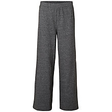 Buy Selected Femme Lissa Loose Fit Sweat Pants, Dark Grey Melange Online at johnlewis.com