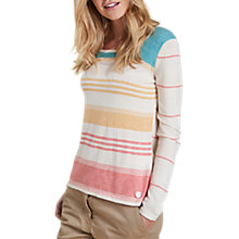 Buy Barbour Current Stripe Jumper, Multi Online at johnlewis.com