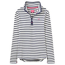 Buy Joules Fairdale Stripe Sweatshirt, Navy/White Online at johnlewis.com