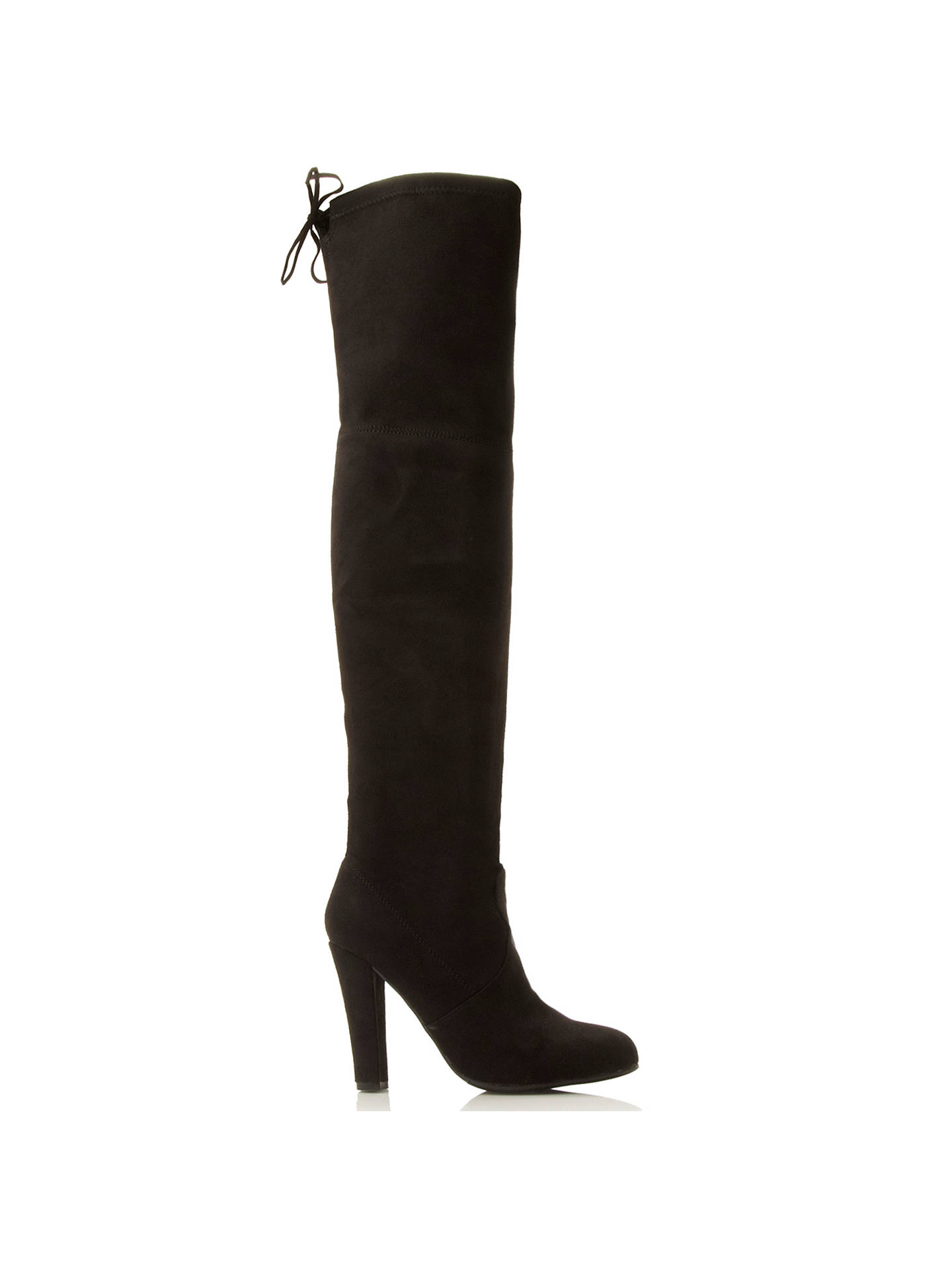 Separación rosado pasta  Steve Madden Gorgeous Pull On Over The Knee Boots at John Lewis & Partners