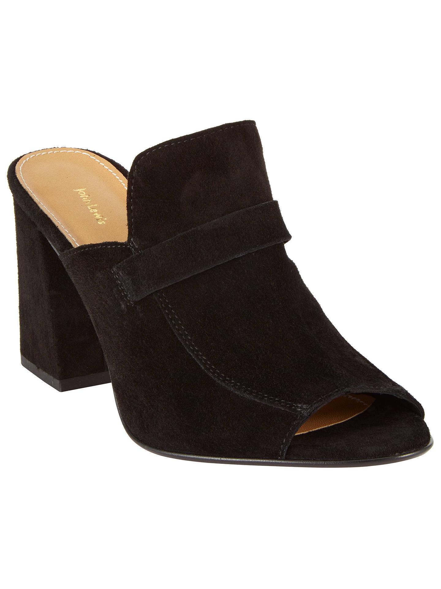 640bd0f49cf23 Buy John Lewis Jackie Block Heeled Mule Sandals