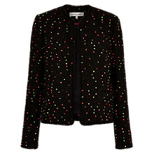 Buy Damsel in a dress Tweed Jacket, Black Online at johnlewis.com