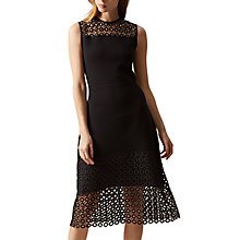 Buy Hobbs Penelope Dress, Black Online at johnlewis.com