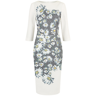 Product photo of Damsel in a dress mixed daisy dress black ivory
