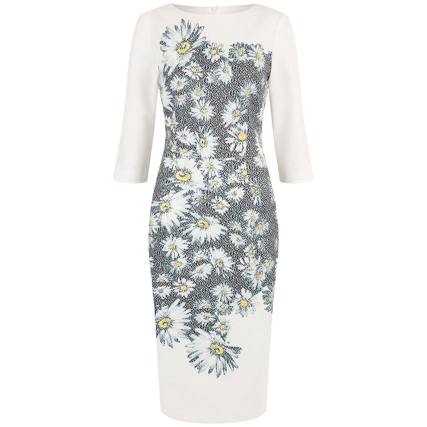 Damsel In A Dress Mixed Daisy Dress, Black/Ivory At John Lewis