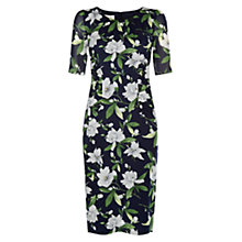 Buy Hobbs Claudia Dress, Navy/Multi Online at johnlewis.com