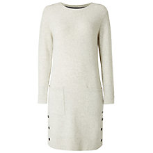Buy White Stuff Camomile Knitted Dress, Light Grey Online at johnlewis.com