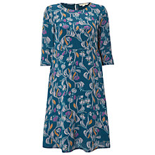 Buy White Stuff Nicole Dress, Lagoon Teal Online at johnlewis.com
