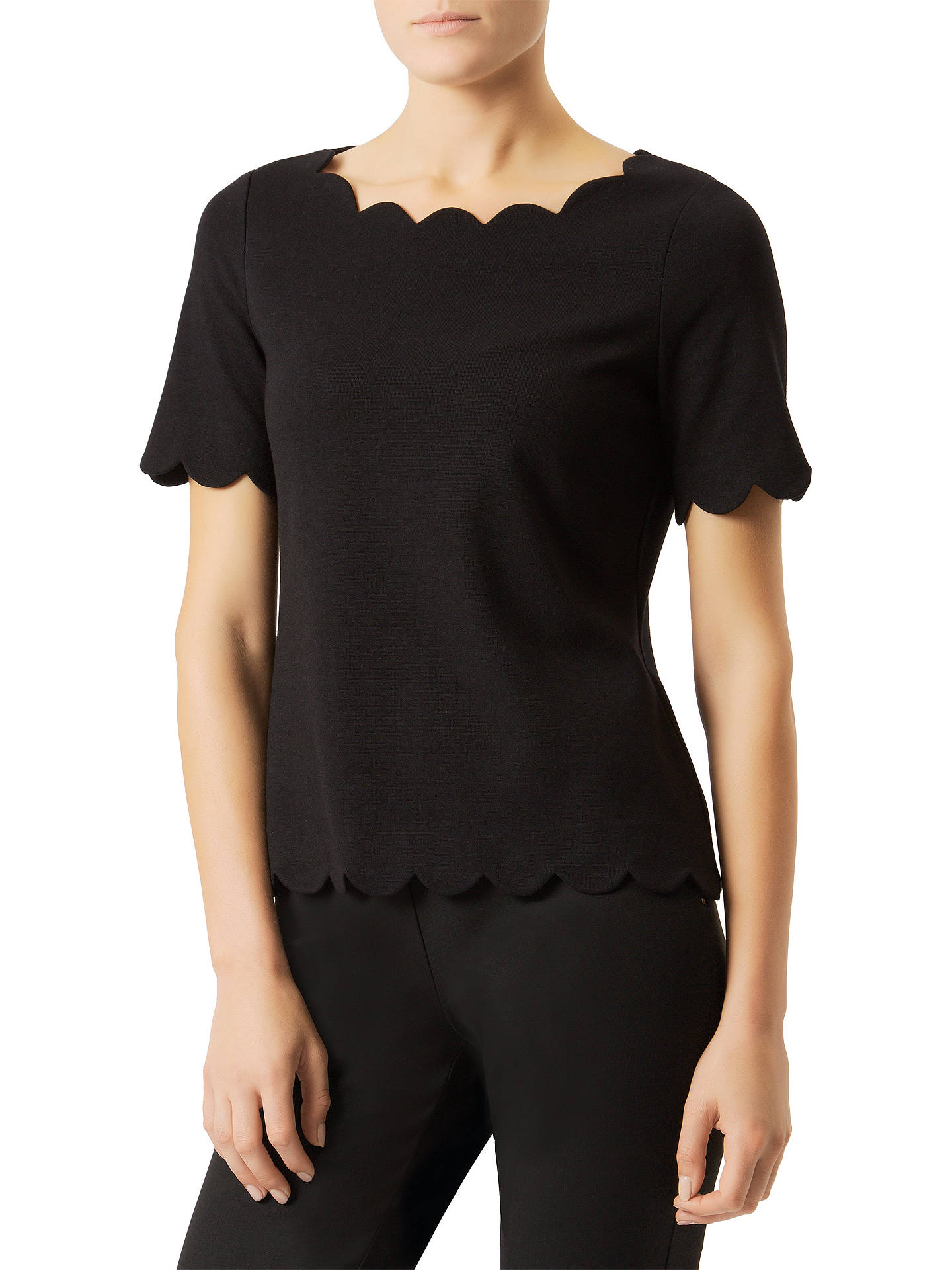 BuyDamsel in a dress Otille Top, Black, 8 Online at johnlewis.com