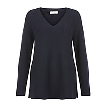 Buy Hobbs Mae Jumper, Navy Online at johnlewis.com