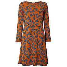 Buy White Stuff Festive Feast Jersey Dress, Marmalade Online at johnlewis.com