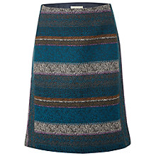 Buy White Stuff Artichoke Jacquard Skirt, Lagoon Teal Online at johnlewis.com