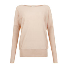 Buy Hobbs Farah Jumper, Pale Oatmeal Online at johnlewis.com