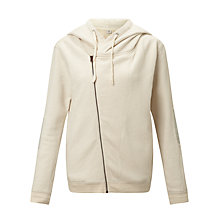 Buy Maison Scotch Home Alone Twisted Hoodie, Ecru Online at johnlewis.com