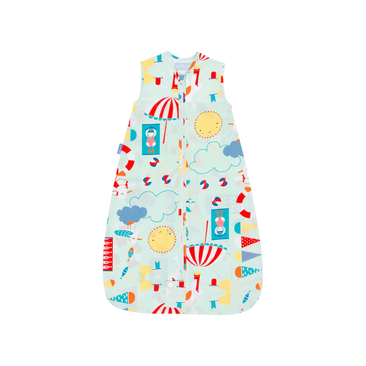 Grobag Beside The Sea Baby Sleep Bag 0 5 Tog Multi at John Lewis