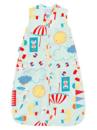 Grobag Beside The Sea Baby Sleep Bag, 0.5 Tog, Multi